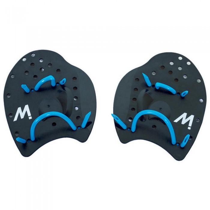 [해외]MOSCONI Palm Flat Swimming Paddles 6137600559 Black / Blue