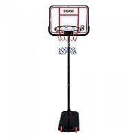 [해외]POWERSHOT Portable basketball unit B-EASE - adjustable from 1.5 to 2.1m 3137842376 Black / White