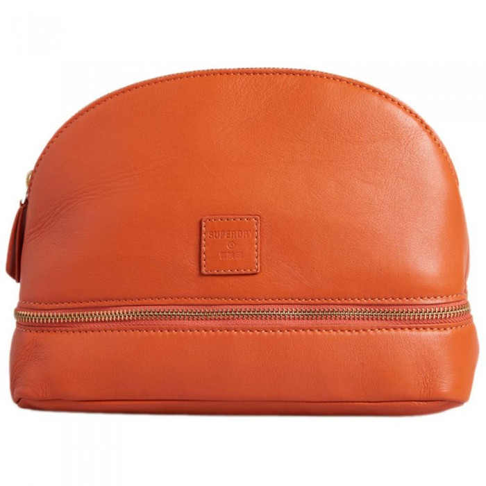 [해외]슈퍼드라이 Make Up Bag 137776563 Fiery Orange