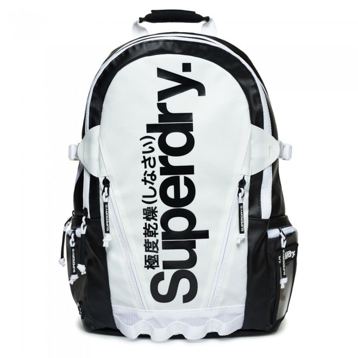 [해외]슈퍼드라이 Mono Tarp Back Pack 136545323 Black / White