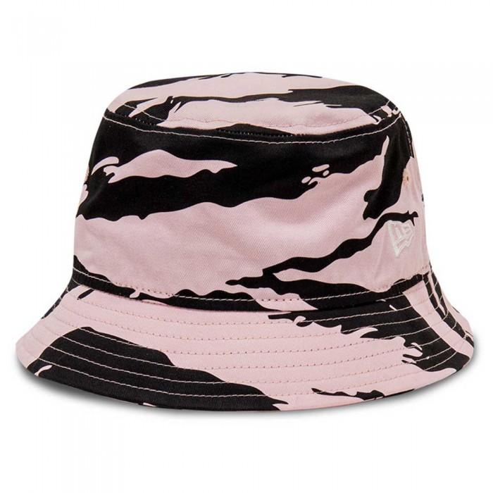 [해외]뉴에라 New Era Tiger Camo Bucket 137873013 Pink & Black