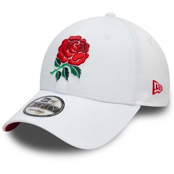 [해외]뉴에라 Rose 940 England Rugby 137873021 White & Scarlet Red