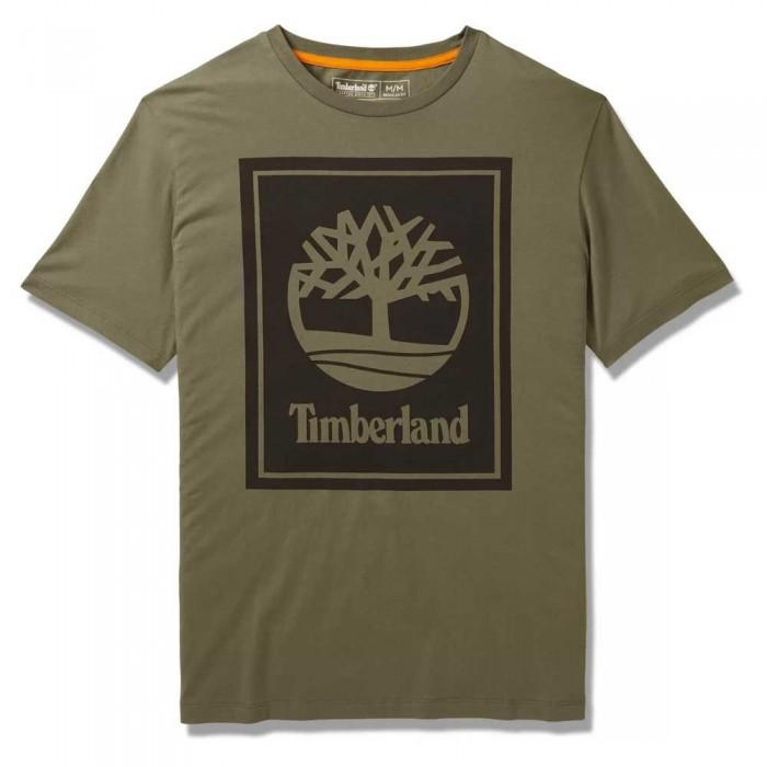 [해외]팀버랜드 Stack Logo Regular 137628725 Grape Leaf / Black