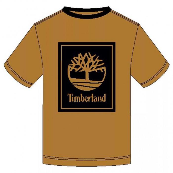 [해외]팀버랜드 Stack Logo Regular 137628727 Wheat Boot / Black