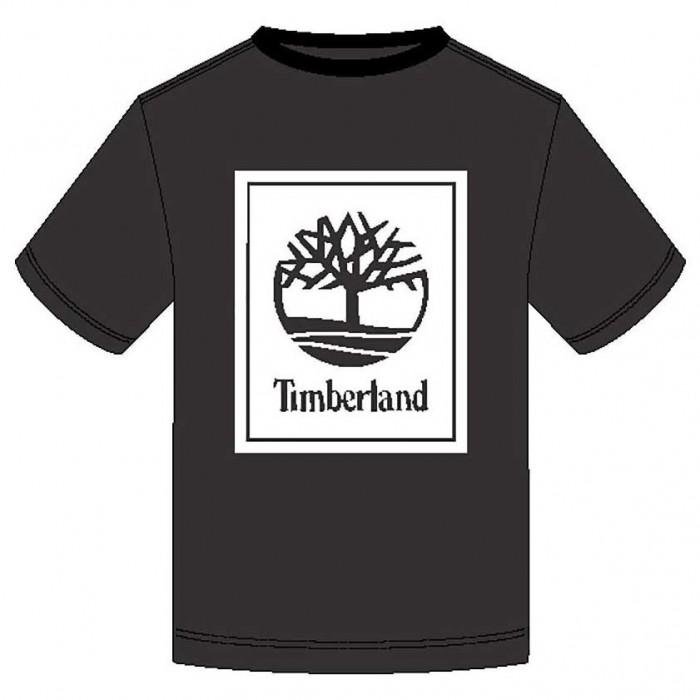 [해외]팀버랜드 Stack Logo Regular 137628729 Black / White