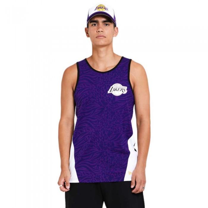 [해외]뉴에라 NBA Aop Los Angeles Lakers 137872949 Purple Team Colours
