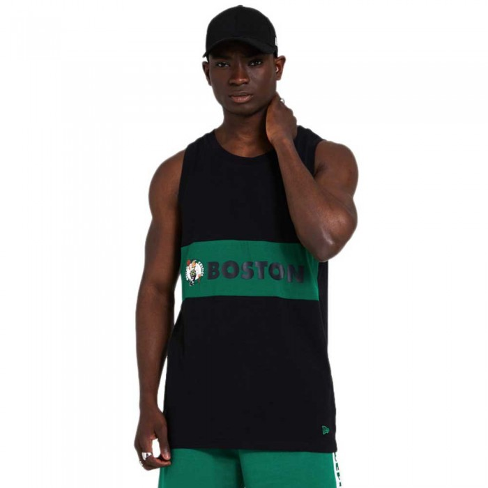 [해외]뉴에라 NBA Colour Block Boston Celtics 137872950 Black
