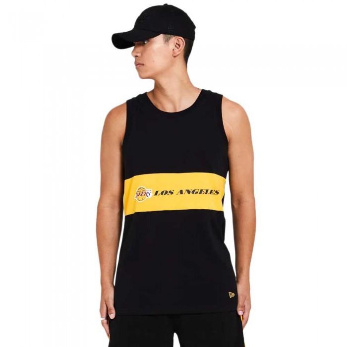 [해외]뉴에라 NBA Colour Block Los Angeles Lakers 137872951 Black Aged