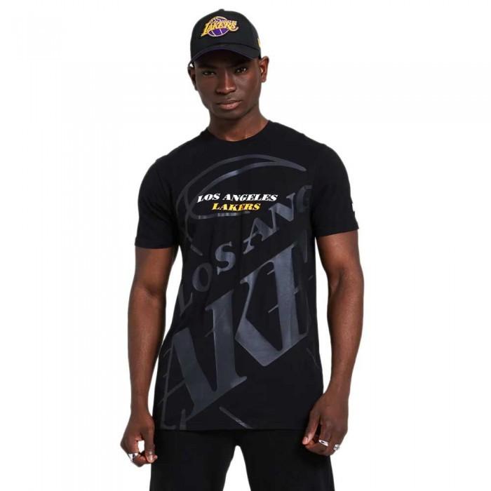 [해외]뉴에라 NBA Big Logo Los Angeles Lakers 137872955 Black