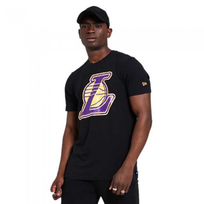 [해외]뉴에라 NBA Print Infill Los Angeles Lakers 137872957 Black