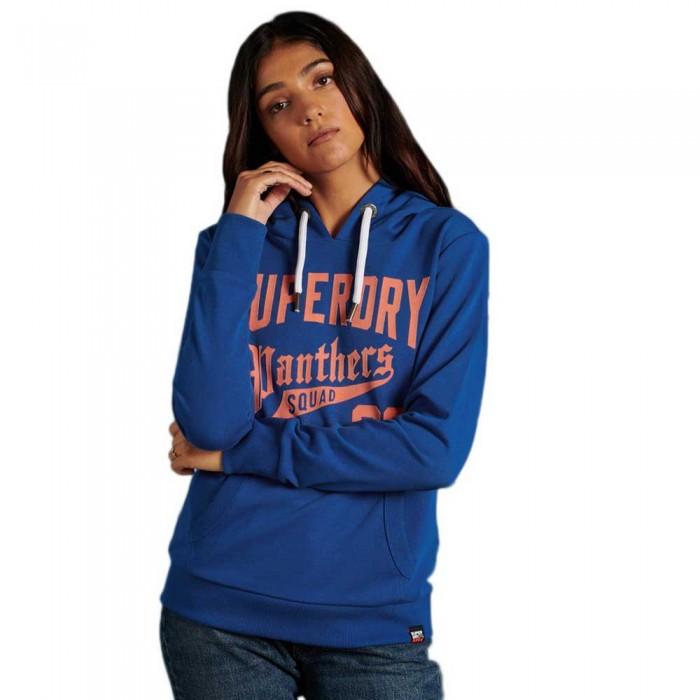 [해외]슈퍼드라이 Varsity 8 Standard Hood 137774978 Mazarine Blue