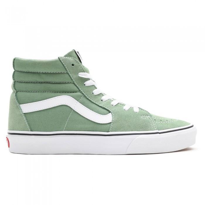 [해외]반스 Sk8-Hi Man137881827 Shale Green / True White