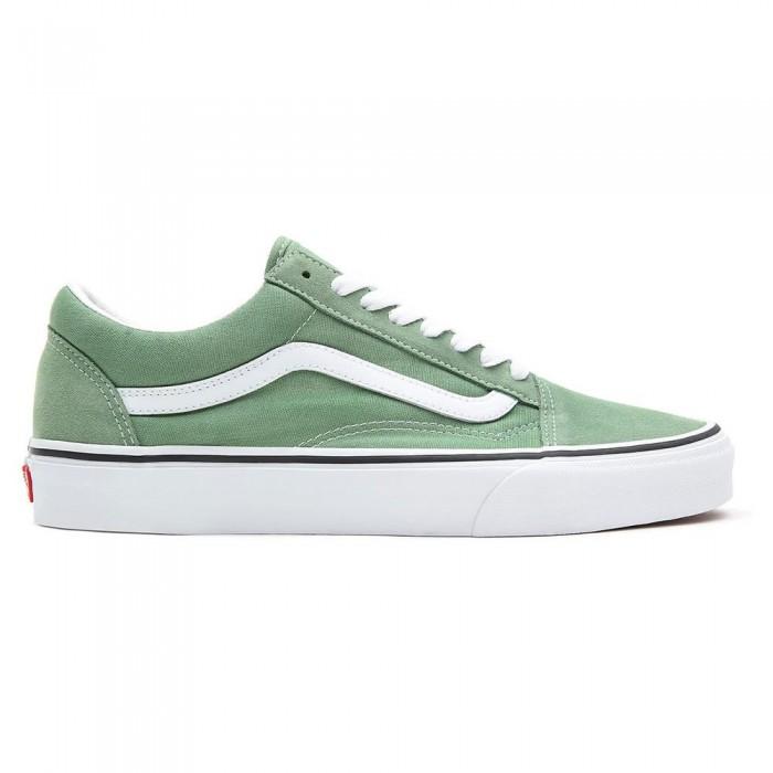 [해외]반스 Old 스쿨 Man137882030 Shale Green / True White