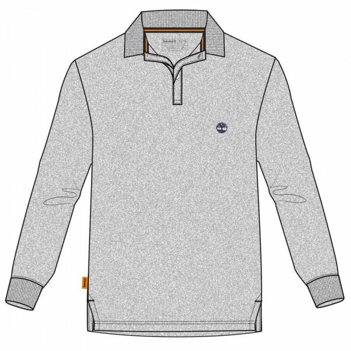 [해외]팀버랜드 Cocheco River Supima Cotton Slim 137627937 Medium Grey Heather