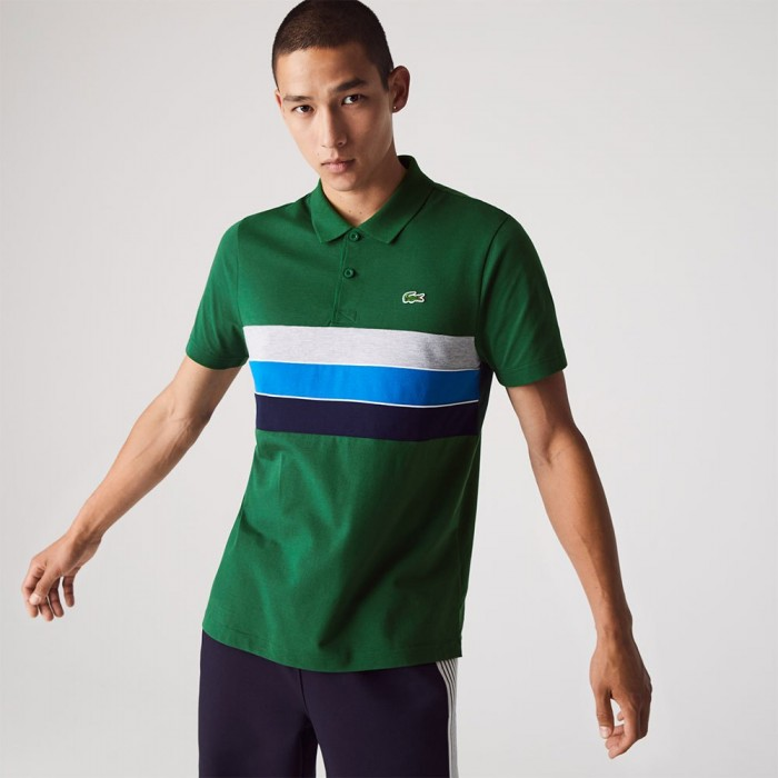 [해외]라코스테 Sport Lightweight Cotton 12137685393 Green / Navy Blue / Blue