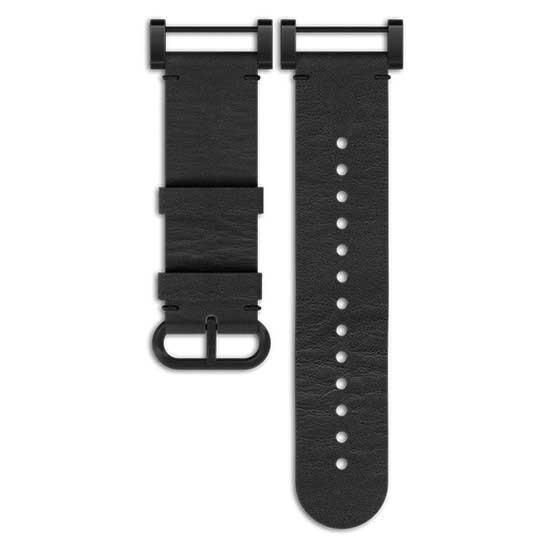 [해외]순토 Essential Leather Strap 7136881603 Black