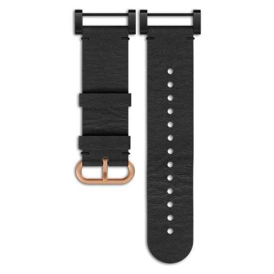 [해외]순토 Essential Leather Strap 7136881605 Black
