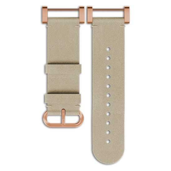 [해외]순토 Essential Leather Strap 7136881607 White