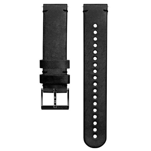 [해외]순토 Urban 2 Leather Strap 20 mm 7137530474 Black / Black