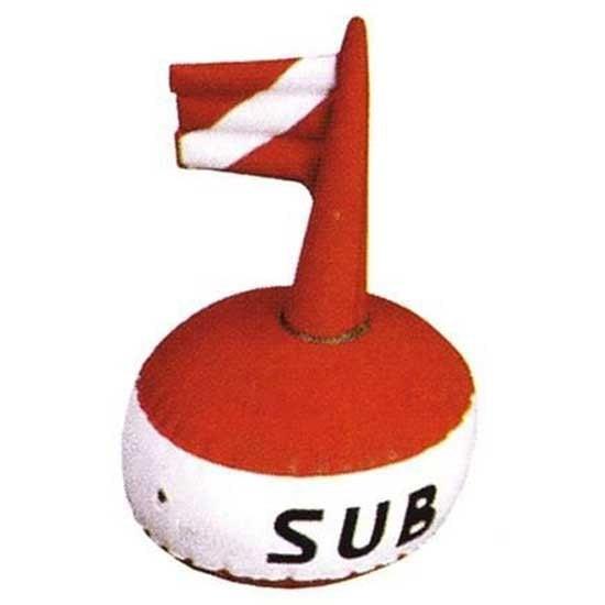 [해외]METALSUB Inflatable Signaling Buoy 38 cm 10137890259 Red / White