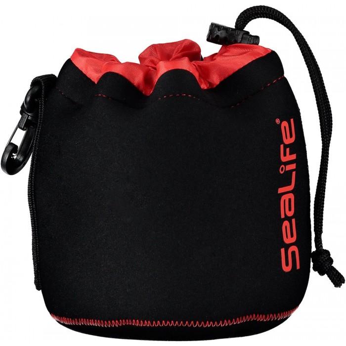 [해외]스쿠바프로 Soft Lined Neoprene Gear Pouch 1L 10137525064 Black / Red