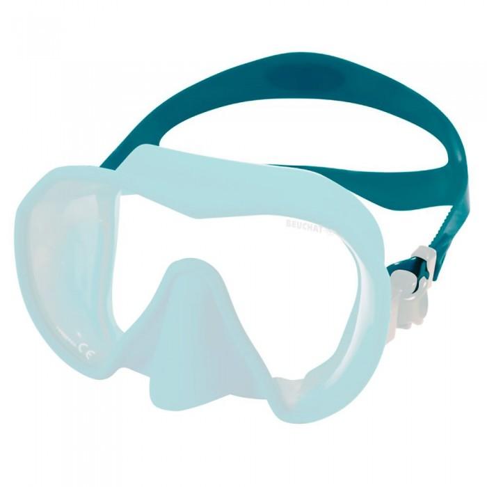 [해외]부샤 Maxlux S Silicone Strap 10137861768 Blue Atoll