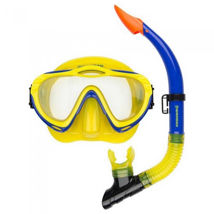 [해외]WAIMEA Diving Mask with Snorkel 10137618923 Yellow / Cobalt Blue