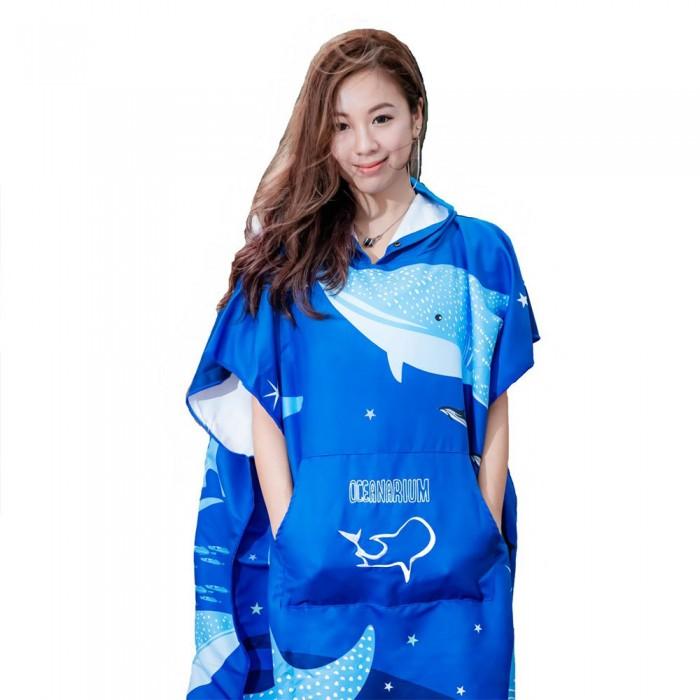 [해외]OCEANARIUM Whale Shark Cloak 10137681061 Blue / White