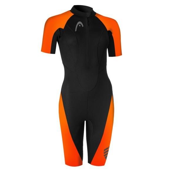 [해외]헤드 SWIMMING Multix 2.5 mm Shorty 6137475055 Black / Orange