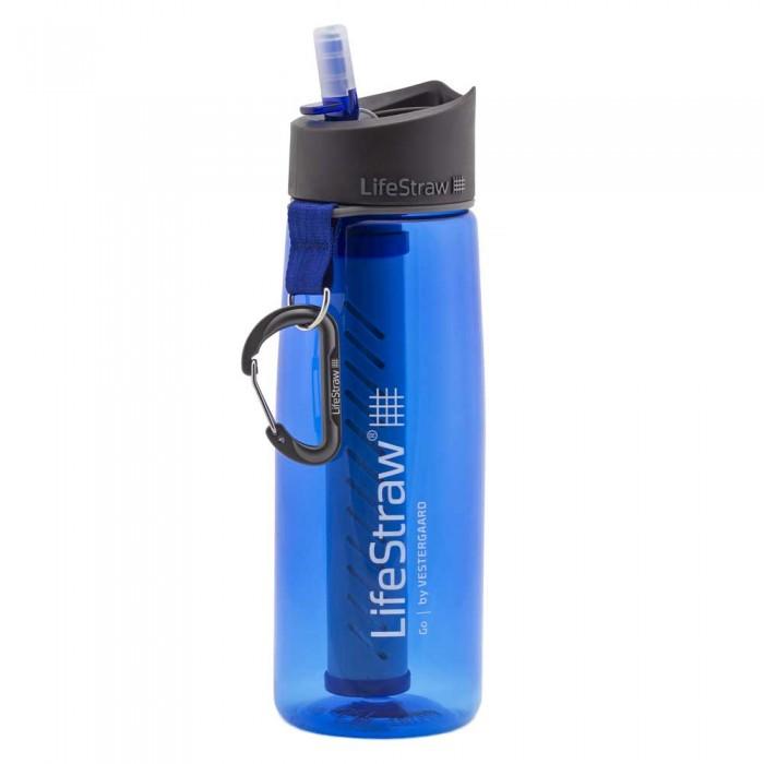 [해외]LIFESTRAW Water Filter Bottle Go 650ml 6136287403 Blue