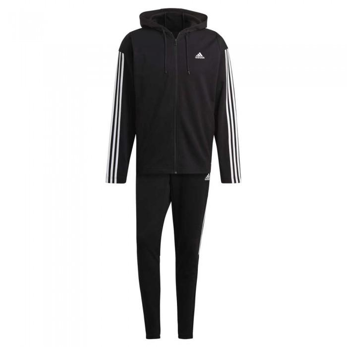 [해외]아디다스 Sportswear Ribbed Insert 6137913519 Black