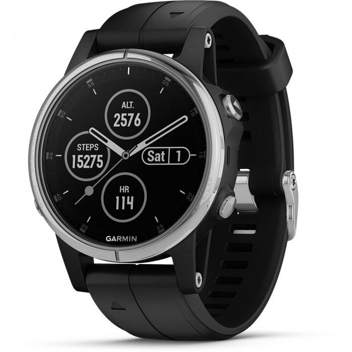 [해외]가민 피닉스 5S Plus Watch 14137814080 Silver / Black