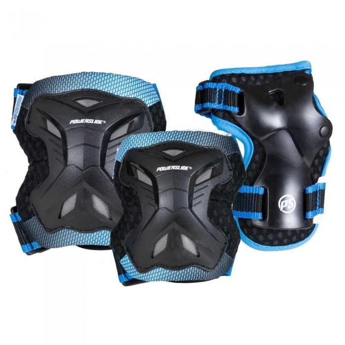 [해외]파워슬라이드 Kids Pro Set 14137903470 Black / Blue
