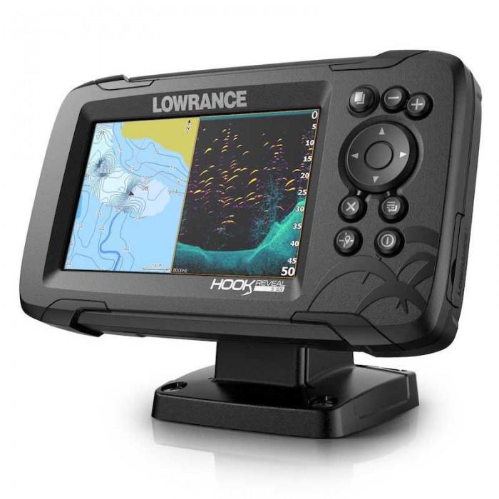 [해외]LOWRANCE Hook Reveal 5 83/200 HDI ROW 8137394687 Black