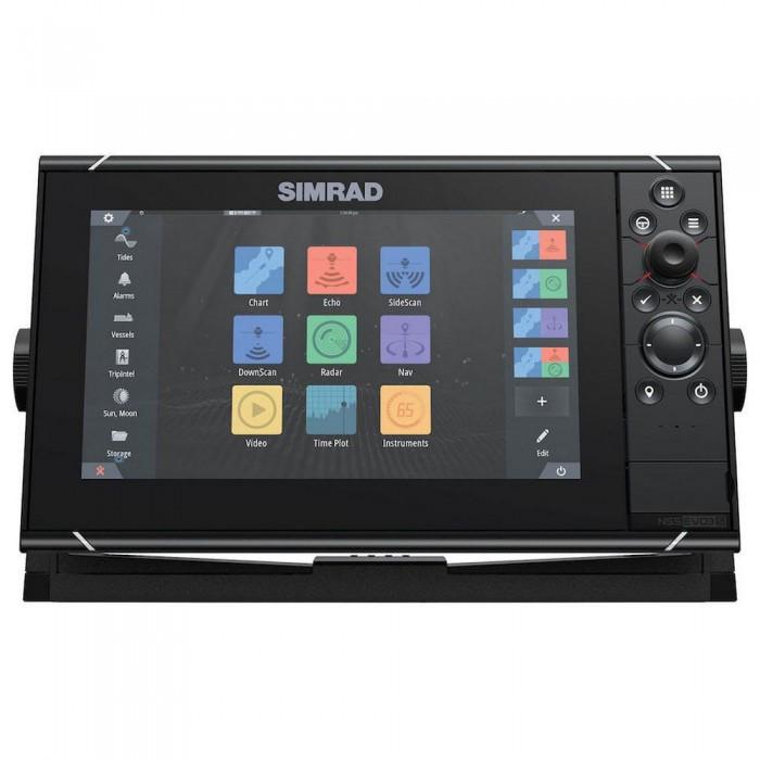 [해외]SIMRAD NSS9 evo3 Combo MFD World Basemap 8137807449 Black