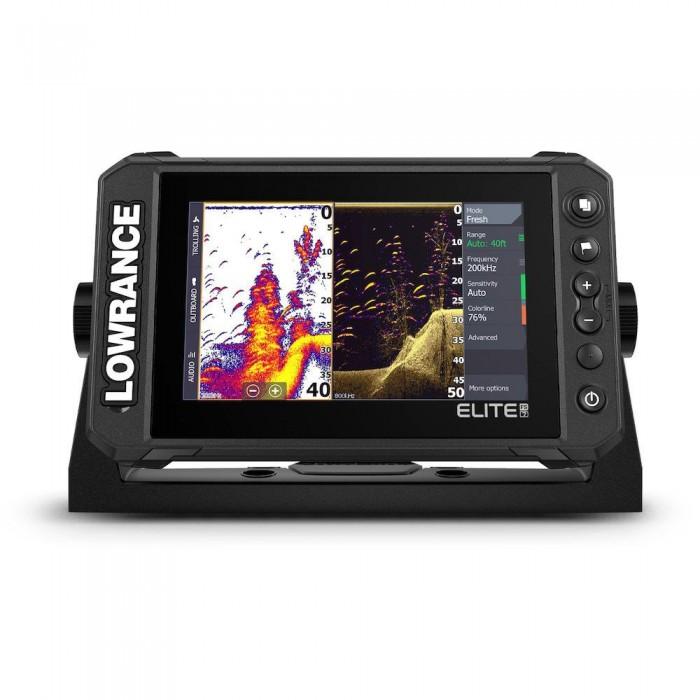 [해외]LOWRANCE Elite FS 7 With HDI Transducer 8137916182 Black