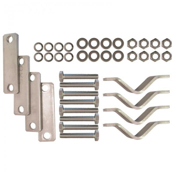 [해외]LALIZAS Rail Mounting Kit For Lifebuoy Ring 8137796522 Silver