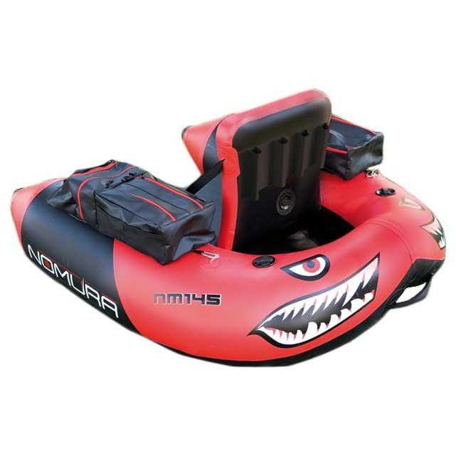 [해외]NOMURA PVC Belly Boat 8137817504 Red / Black