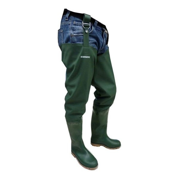 [해외]시마노 FISHING PVC Thigh Boot 8137758419 Green