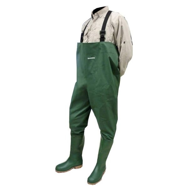 [해외]시마노 FISHING PVC Wader 8137758420 Green