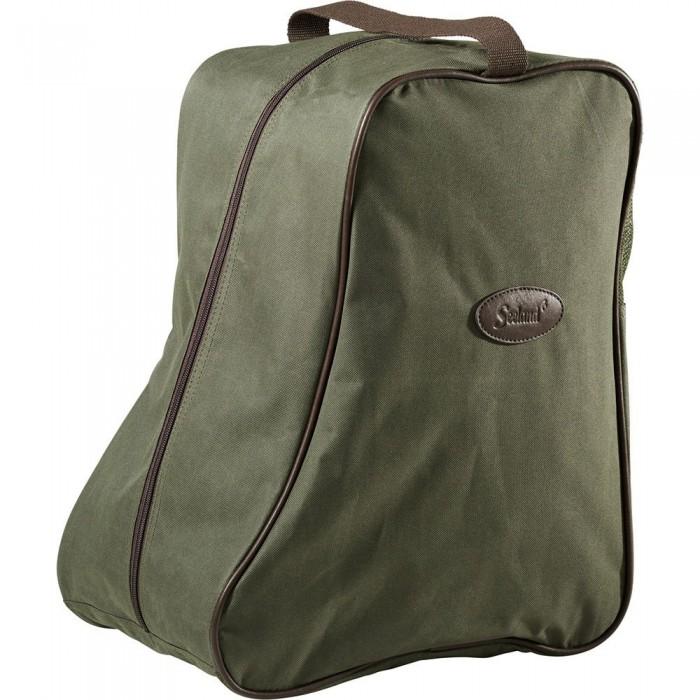 [해외]SEELAND Boot Bag Design Line 8137804706 Green / Brown