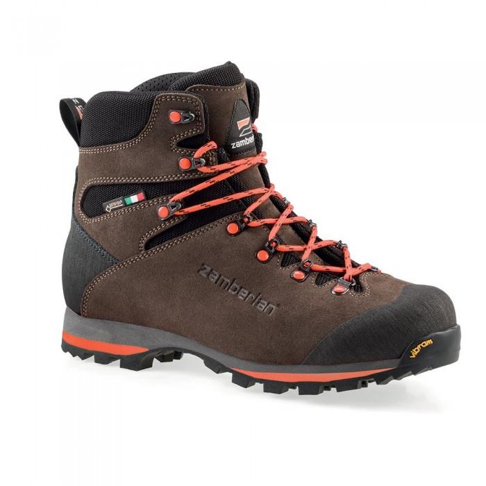 [해외]잠발란 1103 Storm Goretex Comfort Fit 8137857717 Dark Brown / Orange
