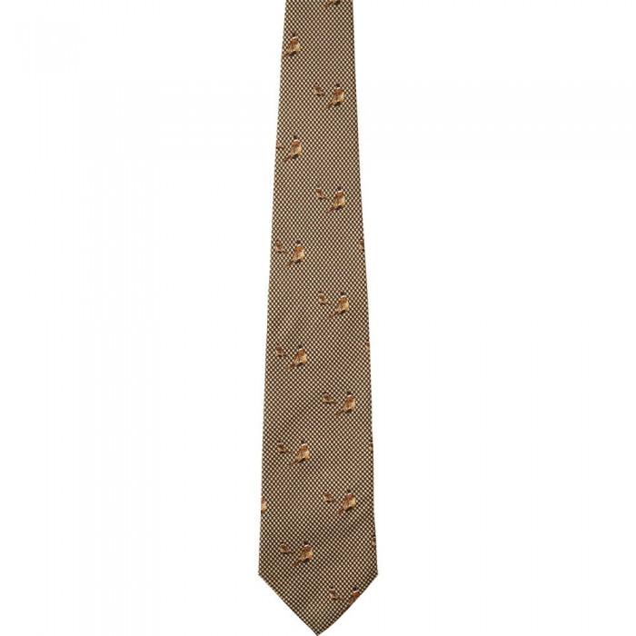 [해외]SEELAND Morgan Silk Tie 8137804674 Faun Brown