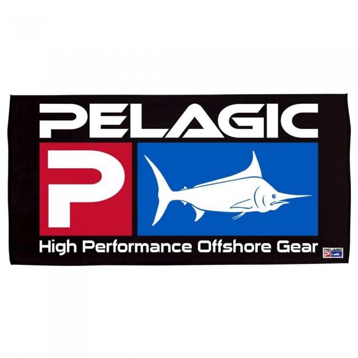 [해외]PELAGIC Beach Deluxe Logo 8137853610 Black