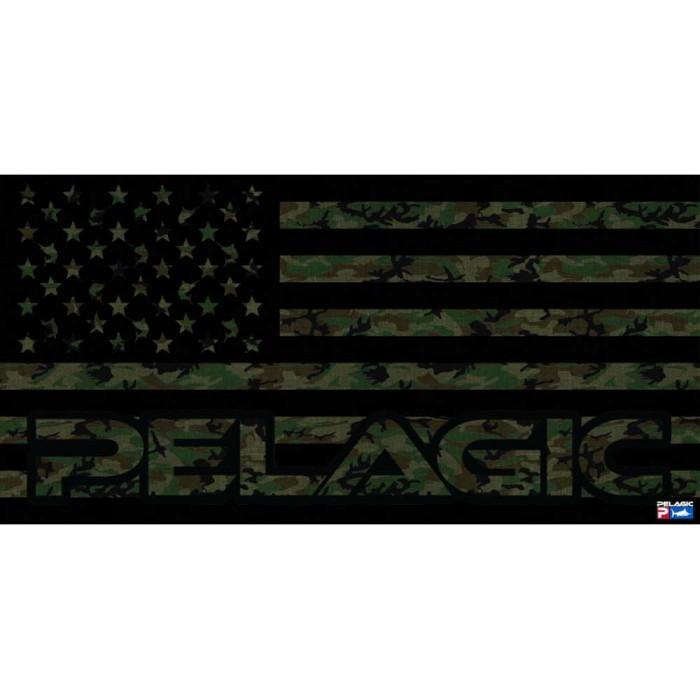 [해외]PELAGIC Fish Camo 8137894812 Green