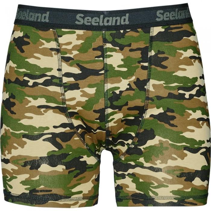 [해외]SEELAND 2 Pack Boxer Briefs 8137804671 Camo / Forest Night