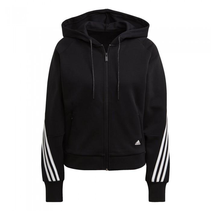 [해외]아디다스 Sportswear Wrapped 3 Stripes 7137901434 Black / White