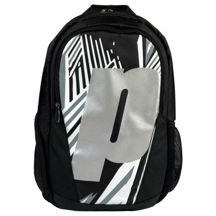 [해외]PRINCE Backpack 12137899971 Black / White / Silver