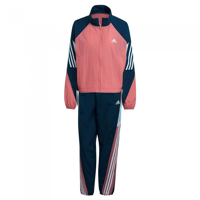 [해외]아디다스 Sportswear Game-Time Woven 7137913476 Hazy Rose / Crew Navy / White