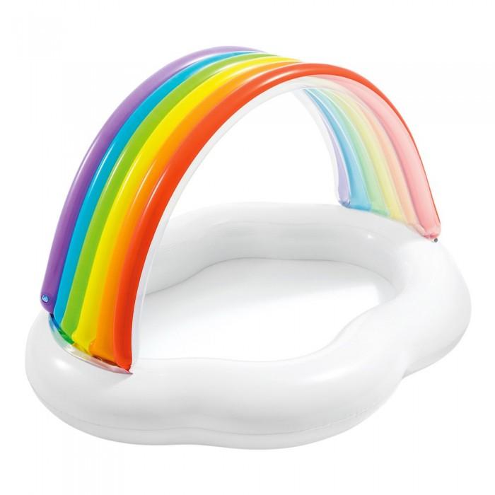 [해외]인텍스 Rainbow Canopy Baby Pool 6137204379